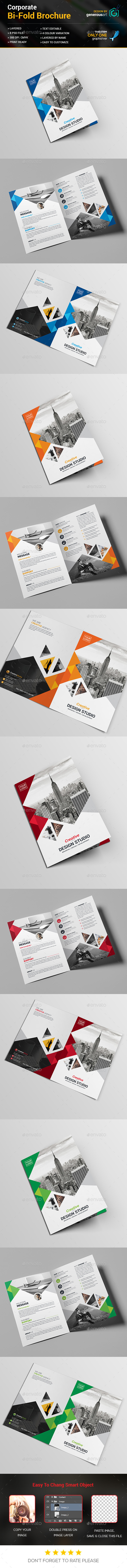 Bi-Fold Business Template - Corporate Brochures