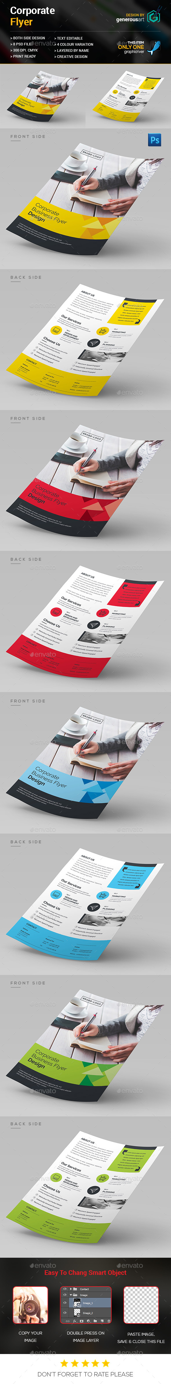 Corporate Flyer Template - Corporate Flyers