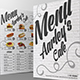 Cafe Menu + Business Card - GraphicRiver Item for Sale