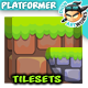2D Game Platformer Tilesets 26 - GraphicRiver Item for Sale