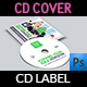 Corporate CD / DVD Cover and Label Template