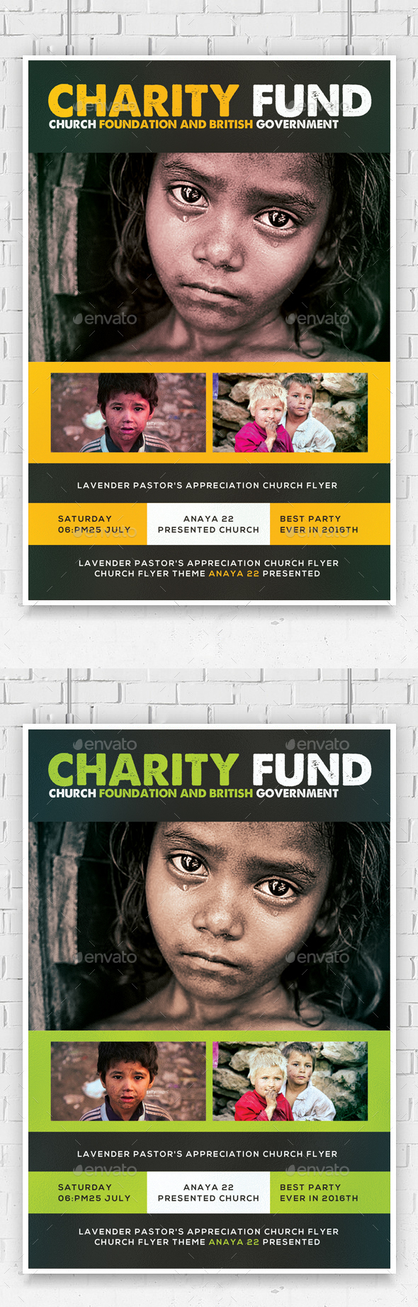 Charity Foundation Church Flyer Template - Church Flyers