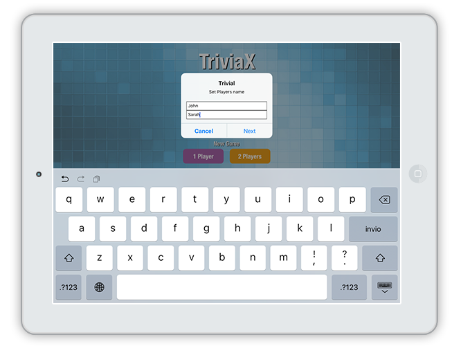 TriviaX | iOS Universal Multi-language Quiz Game Template (Swift) by ...