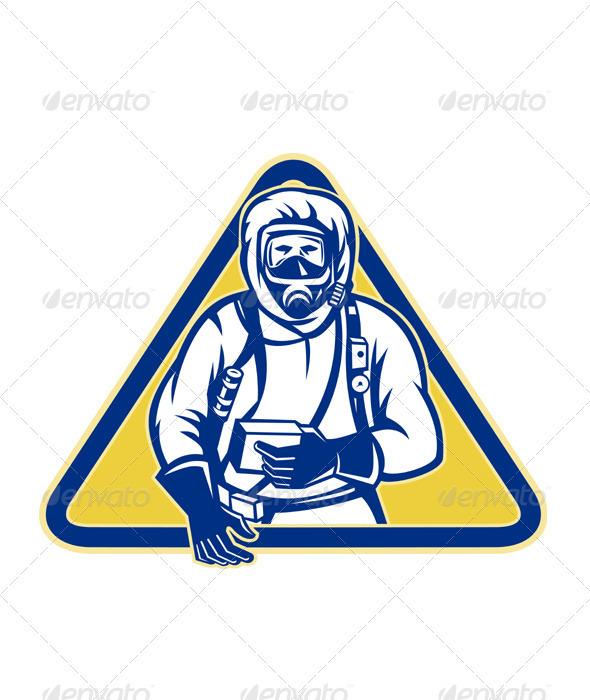 Hazardous Chemical HazChem Suit - People Characters