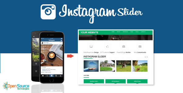 Instagram Slider - CodeCanyon Item for Sale