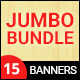 Jumbo Bundle - Collection of HTML5 Animated Banner Templates