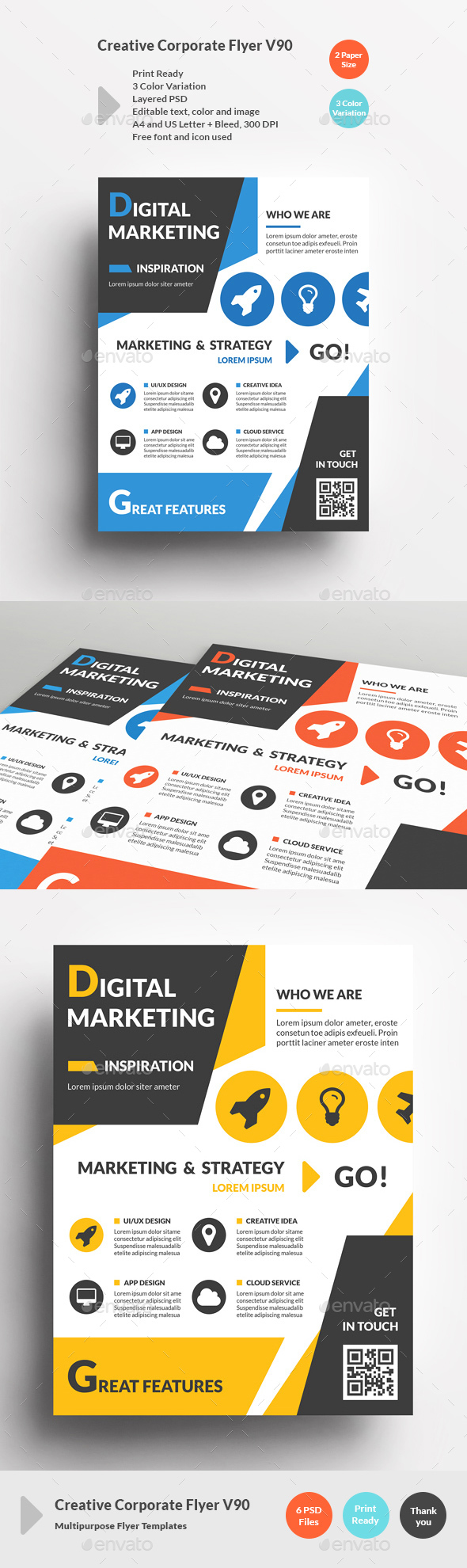 Creative Corporate Flyer V90 - Corporate Flyers