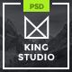 King Studio - Creative PSD Template - ThemeForest Item for Sale
