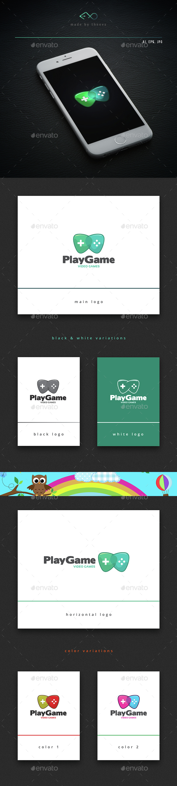 Playgame - Vector Abstract
