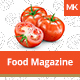 Food Magazine Template - GraphicRiver Item for Sale