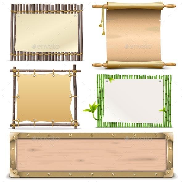 Boards Set - Travel Conceptual