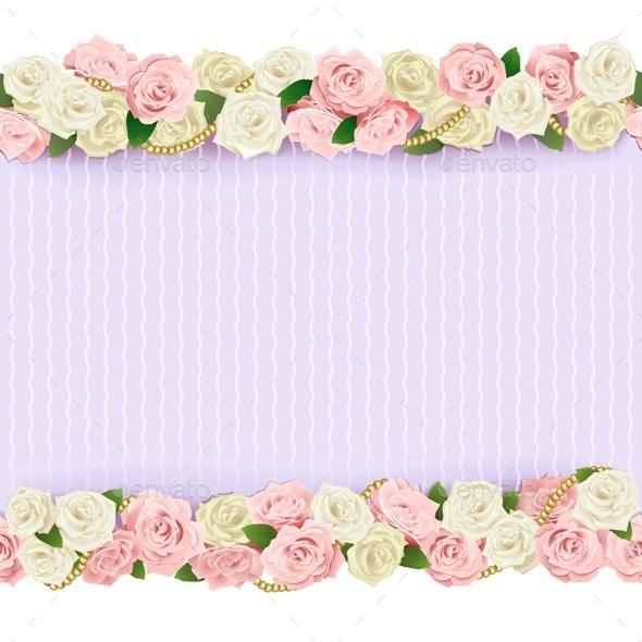 Wedding Flower Frame - Weddings Seasons/Holidays