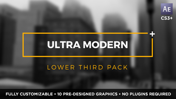 Ultra Modern Titles & Lower Thirds | MOGRT for Premiere Pro 2187965