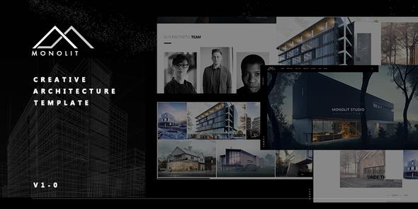 Monolit   – Responsive  Architecture Template