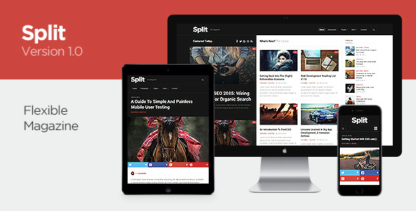 Split – Responsive WordPress Magazine Theme