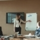 Colleagues Applauding Businesswoman In Office - VideoHive Item for Sale