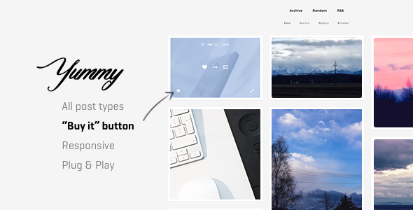 Yummy | Creative Portfolio Theme