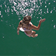 Llittle Girl Jumping Into The Sea - VideoHive Item for Sale