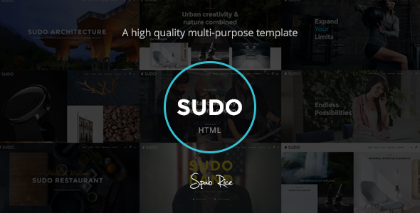 Sudo – High Quality Multipurpose HTML template