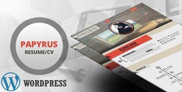 Papyrus || Personal Portfolio WordPress Theme - Portfolio Creative