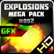 Explosions Blasts Bursts Detonations MEGA PACK 02 - GraphicRiver Item for Sale