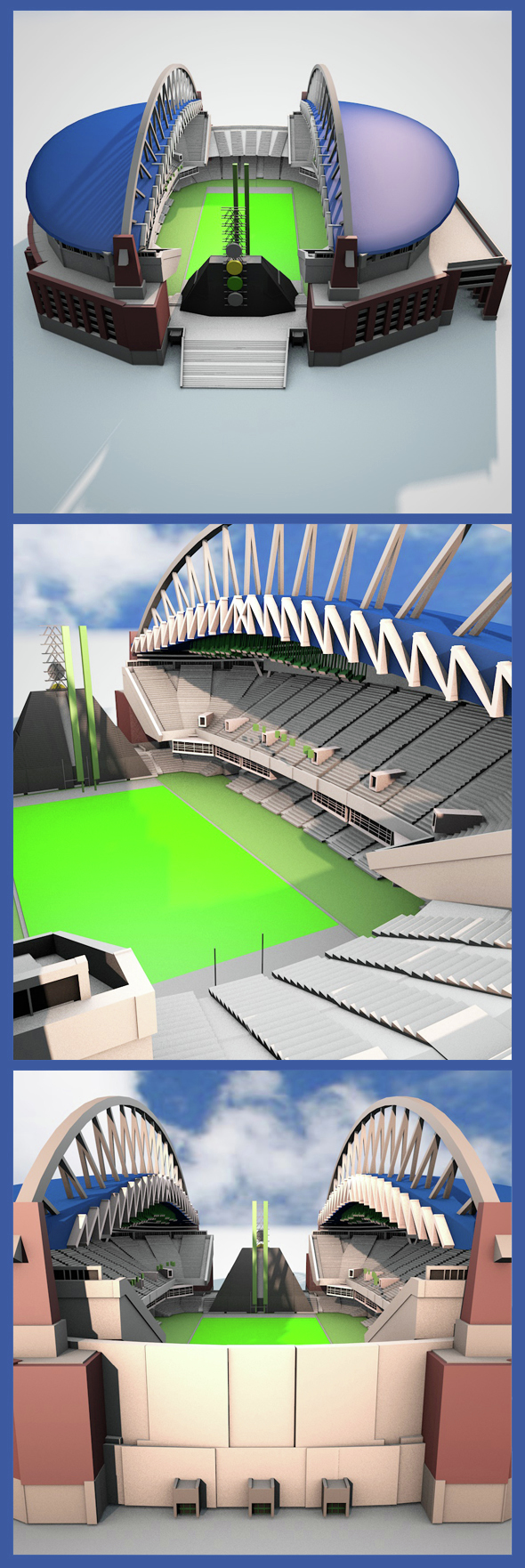 Centurylink Field - 3DOcean Item for Sale