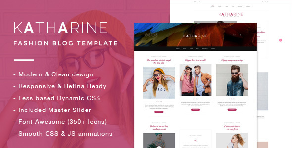 Katharine – Modern Fashion Blog Template