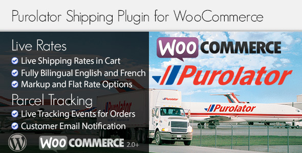 Purolator WooCommerce Shipping Plugin for Rates and Tracking - CodeCanyon Item for Sale