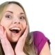 Caucasian Girl Showing Surprise - VideoHive Item for Sale
