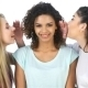The Girls Whisper In The Ear Of Girlfriend - VideoHive Item for Sale