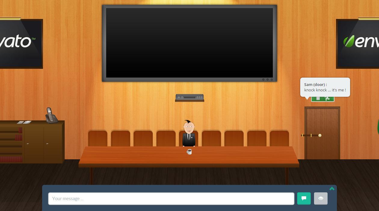 Wp meeting virtual room by loopus codecanyon for Virtual bedroom