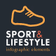 Sport & Lifestyle Infographic Set - GraphicRiver Item for Sale