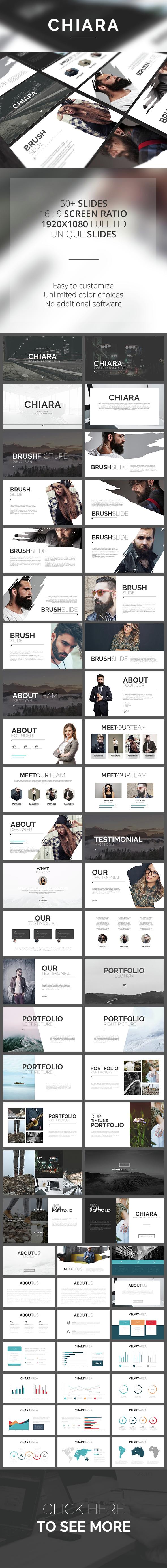 Chiara PowerPoint Template - PowerPoint Templates Presentation Templates