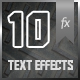 10 Materials Text Effects - GraphicRiver Item for Sale