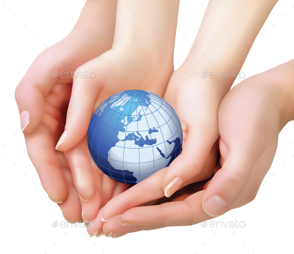 World in Hands - Miscellaneous Conceptual