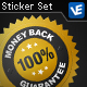 5 Metallic Gold and Silver Seals - GraphicRiver Item for Sale