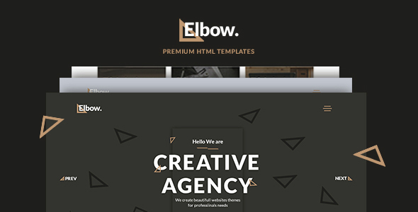 Elbow – Creative Responsive Agency HTML5 Template