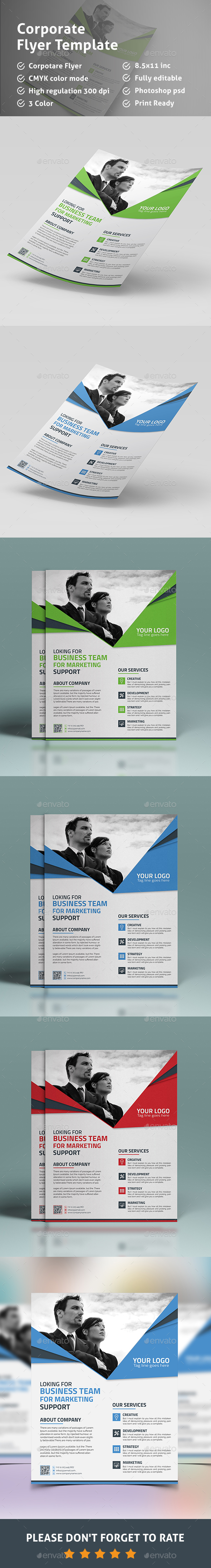 New Flyer - Corporate Flyers