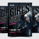 Girls Night Party Flyer / Poster - 23 - GraphicRiver Item for Sale