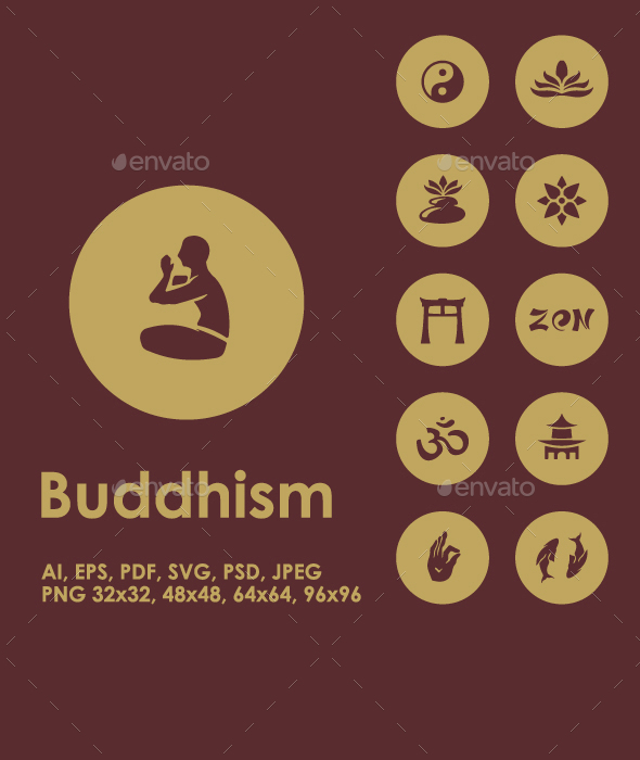 25 Buddhism icons - Miscellaneous Icons