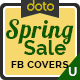 Spring Sale Facebook Covers - 3 Designs - Images Included - GraphicRiver Item for Sale
