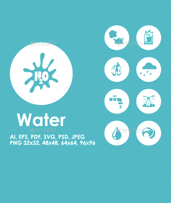 20 Water icons - Miscellaneous Icons