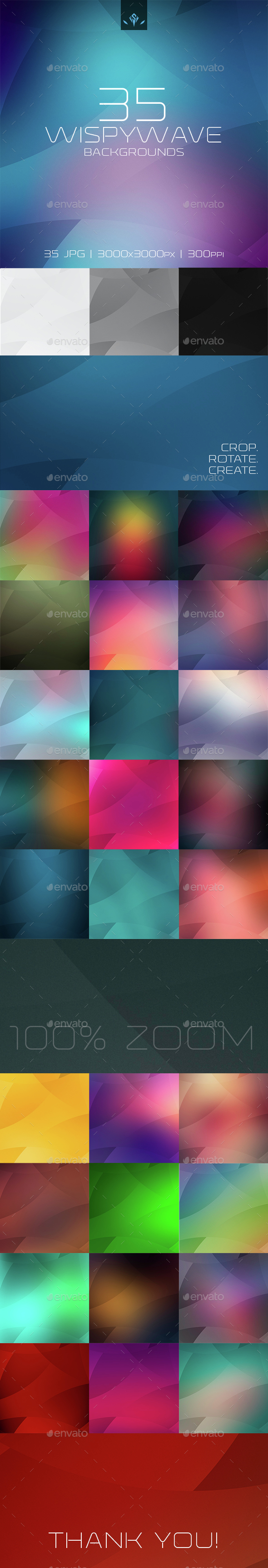 Wispy Waves Background - Abstract Backgrounds
