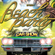 Beach Party and Car Show Template - GraphicRiver Item for Sale