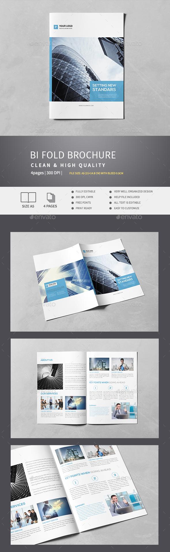Corporate Bi-Fold Brochure v.3 - Corporate Brochures