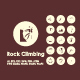 30 Rock Climbing icons - GraphicRiver Item for Sale