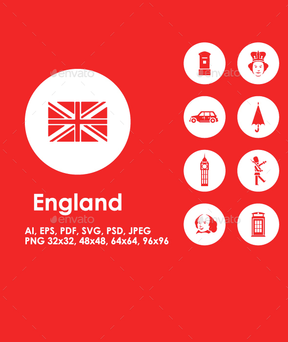 20 England icons - Miscellaneous Icons