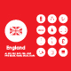 20 England icons - GraphicRiver Item for Sale