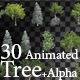30 HI Poly Animated Tree - VideoHive Item for Sale