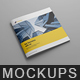Brochure Mockup / Square - GraphicRiver Item for Sale